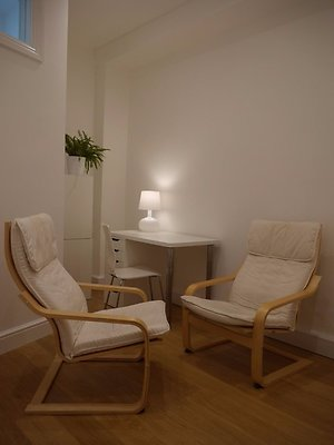 About Therapy. Hollywell therapy room